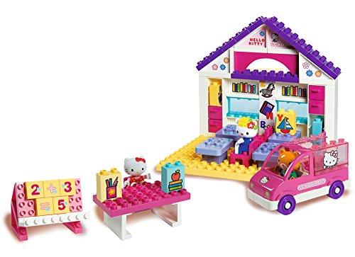 BIG 57026 - PlayBIG Bloxx Hello-Kitty Schule (Hello Kitty-tische Und Stühle)