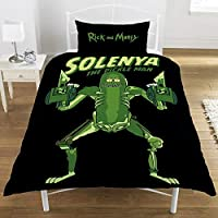 Rick And Morty Pickle Rick - Solenya Ropa de Cama Estampado