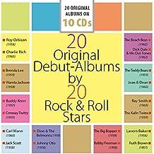 20 Original Debut-Albums by 20 Rock'n'Roll Stars