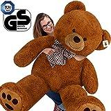 Deuba Teddy | XXXL 175cm | Braun Teddybär Kuscheltier Stofftier Plüschbär Braunbär Plüschtier Teddi