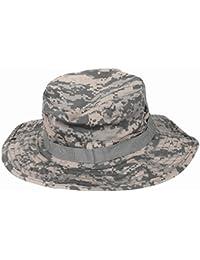 TOOGOO Sombrero de Camuflaje Sombrero de Proteccion Solar Redondeado de Pescador de afueras Gorra tactica para