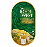John West Hering filetti in salsa di senape (160g X 10X 1Pack Size)