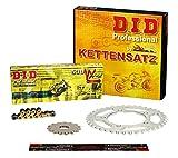 Kettensatz / Kettenkit Suzuki GSX 600 F, 1998-2001, Typ AJ, DID X-Ring (VX gold) extra verstärkt