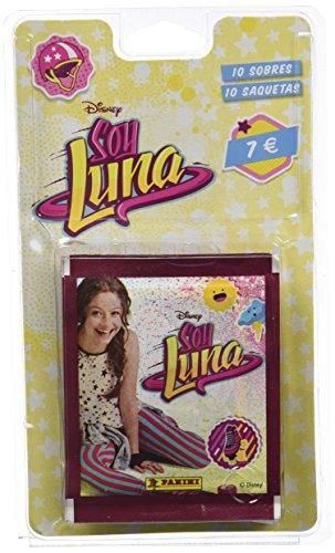 Soy Luna Je suis Luna–Blister de 10Pochettes de société (Panini 003168blie)