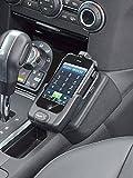 KUDA console per telefono per Land Rover Discovery 4dal 2010Mobilia/in ecopelle nero