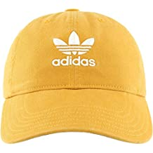 adidas Originals de la Mujer Relaxed Fit Cap, Mujer, Tactile Yellow/White