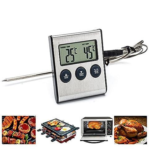 Bluelover Électrique Alimentaire Numérique Barbecue Thermomètre De