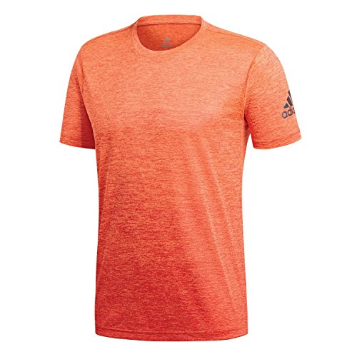 Performance-grafik-t-shirt (adidas FreeLift Gradient Trainingsshirt Herren orange, M - 50)