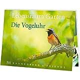 Postkartenbuch Lebensraum Garten - Die Vogeluhr, Postkarte Ansichtskarte, Vögel Vogel
