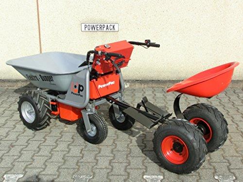 DAS ORIGINAL – MADE IN GERMANY – POWERPAC MCE400 mit 110ltr. Mulde – AKKUSCHUBKARRE ELEKTROSCHUBKARRE SCHUBKARRE DUMPER MOTORSCHUBKARRE - 6