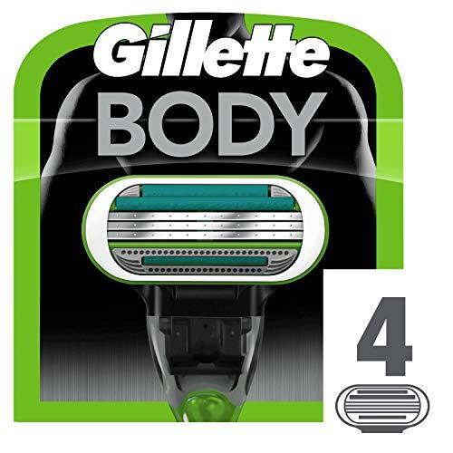 Gillette Body 3 Rasierklingen, 4Stück