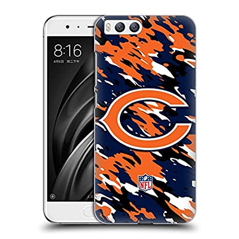 Official NFL Camou Chicago Bears Logo Hard Back Case for Xiaomi Mi 6