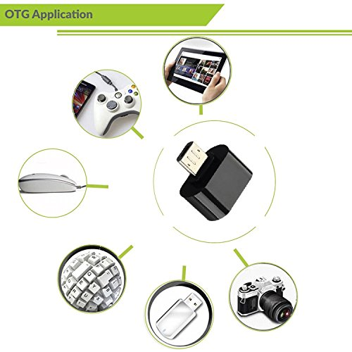 Micro USB On-The-Go OTG Adapter For LG G3, LG G Pad 7.0, LG G Pad 10.1, LG G3 (CDMA), LG G3 LTE-A, LG Vu 3 F300L, LG Optimus G Pro, LG Optimus G Pro lite, LG Optimus G2, Karbonn Titanium X, Karbonn Karbonn Titanium Hexa, BlackBerry BlackBerry Z30, Gionee Elife S5.5, Gionee Elife E7, Xiaomi MI-4, Xiaomi MI-3, Xiaomi MI-2, Xiaomi Mi Pad 7.9, Xiaomi MI-2S, Xiaomi MI-2A, Xiaomi Redmi Note, Xiaomi Redmi Note 4G, Xiaomi Hongmi 1S, Xiaomi Hongmi (Black Color)  available at amazon for Rs.149
