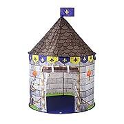 UN GRANDE POSTO PER BAMBINI: la tenda Princess Play crea un regno in ogni angolo della casa con questo magico castello per bambini. Ci sono due finestre che forniscono la mentalità, quindi c'è anche un flusso d'aria costante e una grande aper...