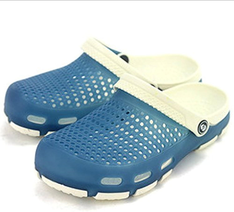 DYY Zapatos de Playa, Zapatillas de Moda para Hombres, Sandalias y Pantuflas Transpirables de Verano para Hombres