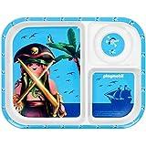 Promobo–Bandeja y soporte plato infantil licencia Playmobil Niño Pirata
