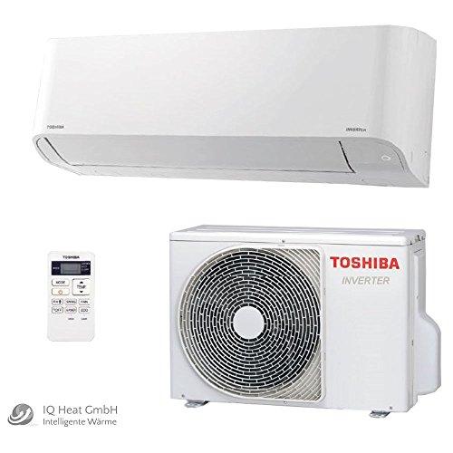 Toshiba Kimaanlage Set Mirai R410A RAS-10BKV-E Wandklimagerät 2,5 kW / 3,2 kW - Split Klimagerät Inverter