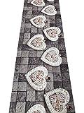Tappeto passatoia fantasia 7 misure antiscivolo cucina lavabile aderente pietra - Fantasia - 50 x 300 cm
