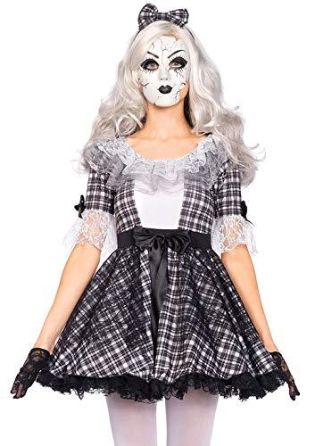 Leg Avenue 85511 - Pretty Porcelain Doll Kostüm, Größe Large (EUR - Creepy Doll Kostüm Für Erwachsene