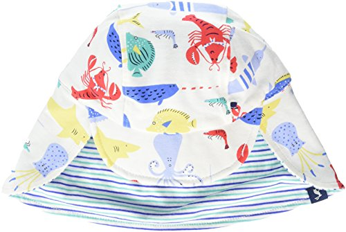 Tom Joule Joules Baby-Jungen Mütze Sunny, Off-White (Cream Seaside), M