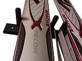 """Estándar vertical esquís 2de montaje en pared 1/4""""Gap (hecho en los Estados Unidos)"""