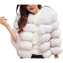 super popular ef47c 433e6 Amazon.it: Pelliccia Bianca Abbigliamento