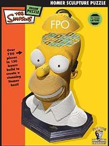 Sculpture Puzzle Homer Simpson
