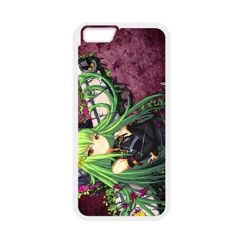 Code Geass C.C coque iPhone 6 4.7 Inch Housse Blanc téléphone portable couverture de cas coque EBDXJKNBO17498