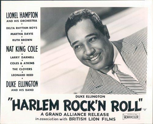 Nostalgia Store Harlem Rock 'n Roll Revue Original Lobby Karte Duke Ellington Portrait Foto, 1956 (Harlem Foto)