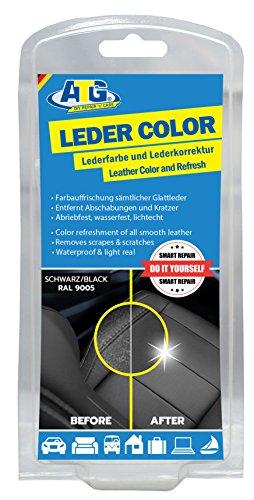 ATG ATG022 Leder-Color Lederfarbe inkl. Schwamm - beseitigt Kratzer, Abschürfungen und Abnutzungen...