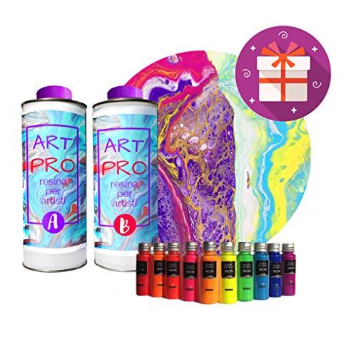 Art Pro Resina Transparente para Artistas DE 1