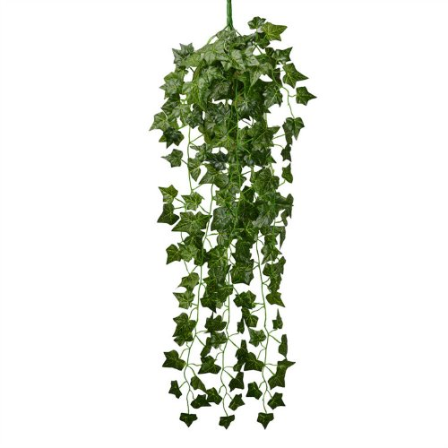 90CM-Artificial-Fake-Faux-Scindapsus-Leaf-Vine-Plant-Garland-Wedding-New