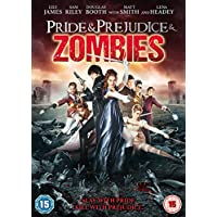 Pride & Prejudice & Zombies [DVD] [2016] UK-Import (Region 2), Sprache-Englisch.