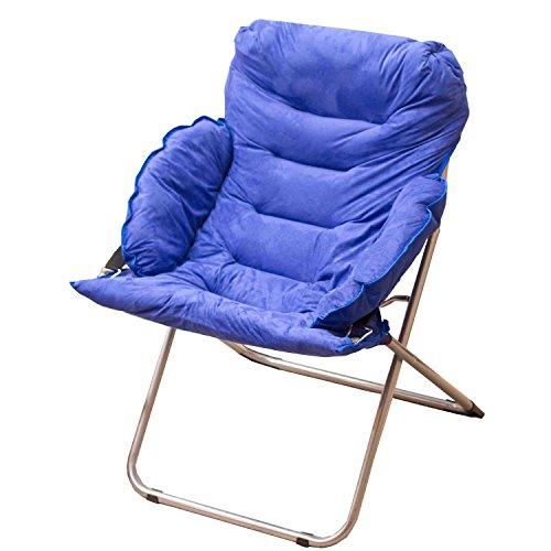 Accueil/Tabouret pour meubles de loisirs intérie Bleu Grande taille Chaise détendue Pause déjeuner Fold Fauteuil inclinable Nap Sofa durable par BZEI-Chair