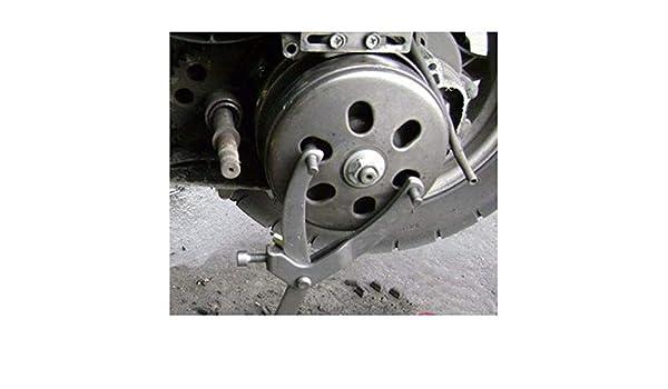 Lecimo Y Type Cl/é Cl/é Embrayage R/églable Moto Volant Roue Poulie Pignon Porte