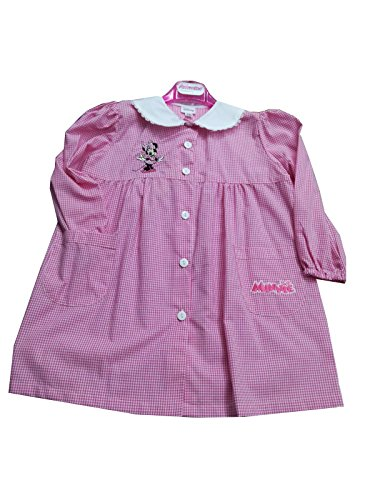 Grembiule asilo minnie disney per bambina scuola materna (art. s952017) (65 - 6 anni)