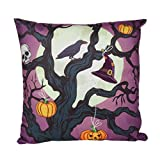 SEWORLD Happy Halloween Kissenbezug Sofa Taille Wurf Kissenbezug Home Decor G