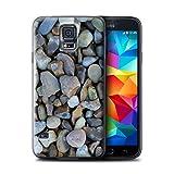 Stuff4 Hülle / Hülle für Samsung Galaxy S5 Neo/G903 / Große Kieselsteine Muster / Stein/Rock Kollektion