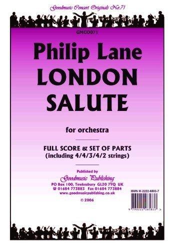 Lane Philip London Salute Pack Philip Lane