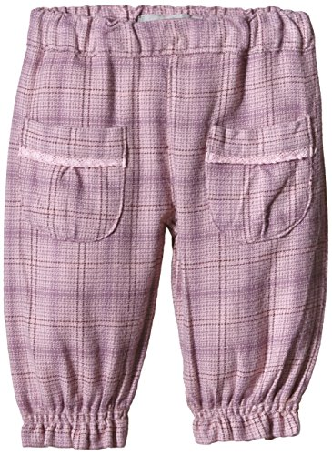 NAME IT Baby - Mädchen Hose Nitlilly Nb So Bag/r Twi Pant Wr 515, Gr. 62, Rosa (Pink Nectar)