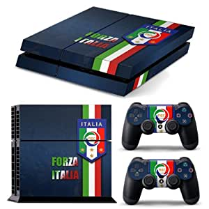 Couverture PS4 FORZA ITALIA FULL BODY accessoire Autocollant Wrap peau Decal pour PS4 Playstation 4