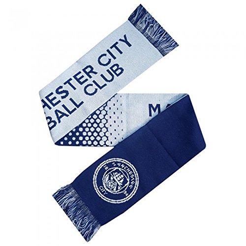 Manchester City FC – Bufanda oficial Modelo Fade Football Crest Supporters