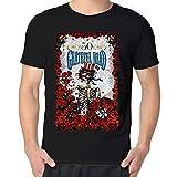 Telecharger Livres Maggo vieilli Tete de mort roses Grateful Dead T shirt pour homme Homme noir (PDF,EPUB,MOBI) gratuits en Francaise