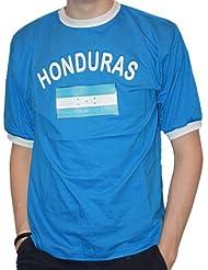 BRUBAKER Herren oder Damen Honduras Fan T-Shirt Blau Gr. S - XXXL