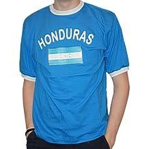 Brubaker Hombre o Mujer Honduras Fan Camiseta de color azul, tallas S – XXXL,