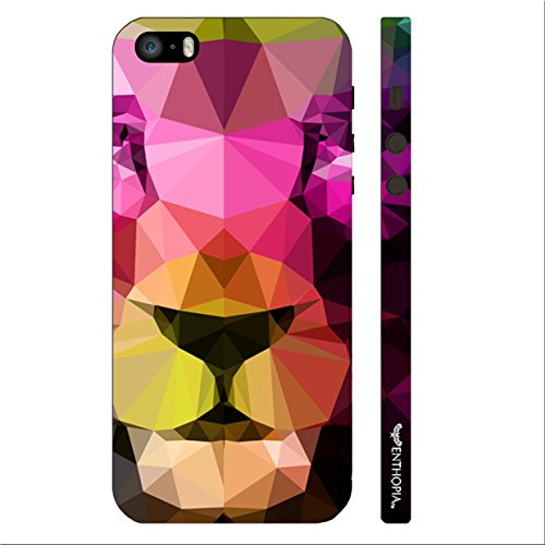 Enthopia Designer Hardshell Case 3D Lion Back Cover for Apple Iphone 5,5s,SE  available at amazon for Rs.125