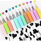 Affe 12pcs Cute Diamond Bolígrafo de gel Milky Vaca Coreano De Escritura Bolígrafos kawaii papelería material escolar oficina escuela suministros