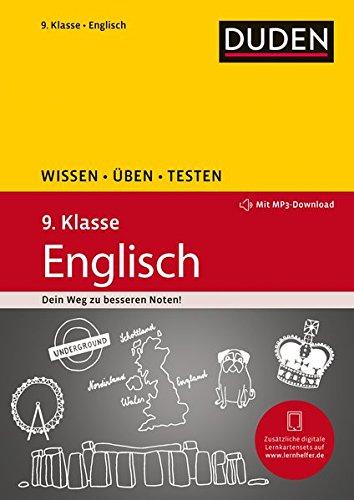 Preisvergleich Produktbild Wissen - Üben - Testen: Englisch 9. Klasse: Mit MP3-Download zum besseren Hörverständnis. Ideal zur Vorbereitung auf Klassenarbeiten. Für Gymnasium und Gesamtschule