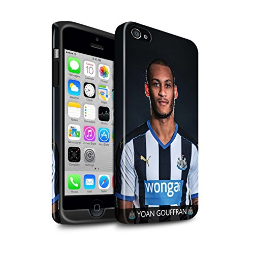 Officiel Newcastle United FC Coque / Brillant Robuste Antichoc Etui pour Apple iPhone 4/4S / Pack 25pcs Design / NUFC Joueur Football 15/16 Collection Gouffran