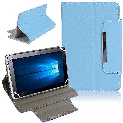 Nauci Kiano Intelect 8 MS Tablet Schutz Tasche Hülle Schutzhülle Case Cover Bag, Farben:Hellblau